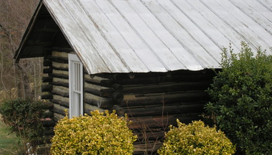 A log cabin can be a simple structure, but always involve a building expert.