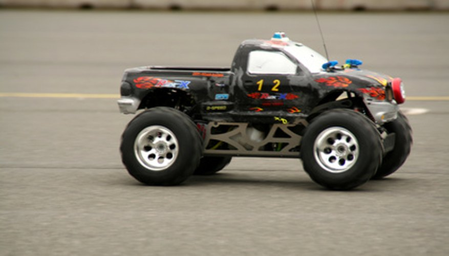 Build a RC monster truck to race and enjoy.