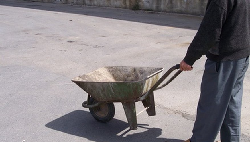 Wheelbarrows become useless if the wheel is inoperable.