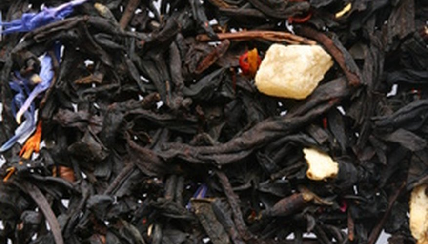 Tea comes from the plant Camellia sinensis