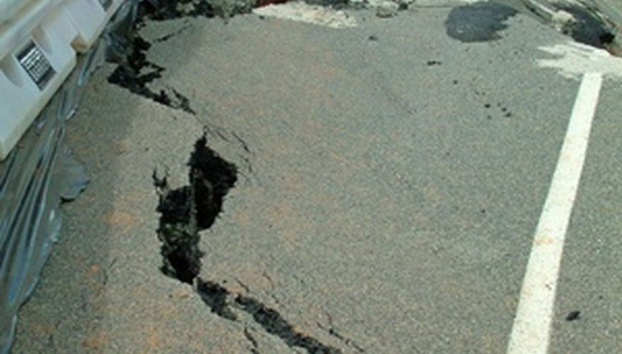 Thermal stress can cause cracks in highways and roads.
