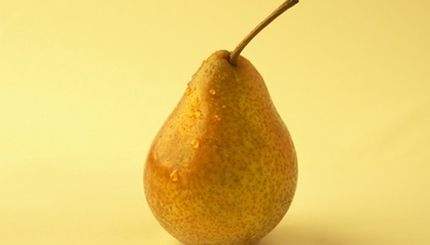 The pear is a favorite among still life artists.