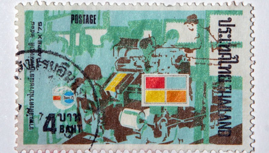 Most foreign stamps are not more valuable than their postage.