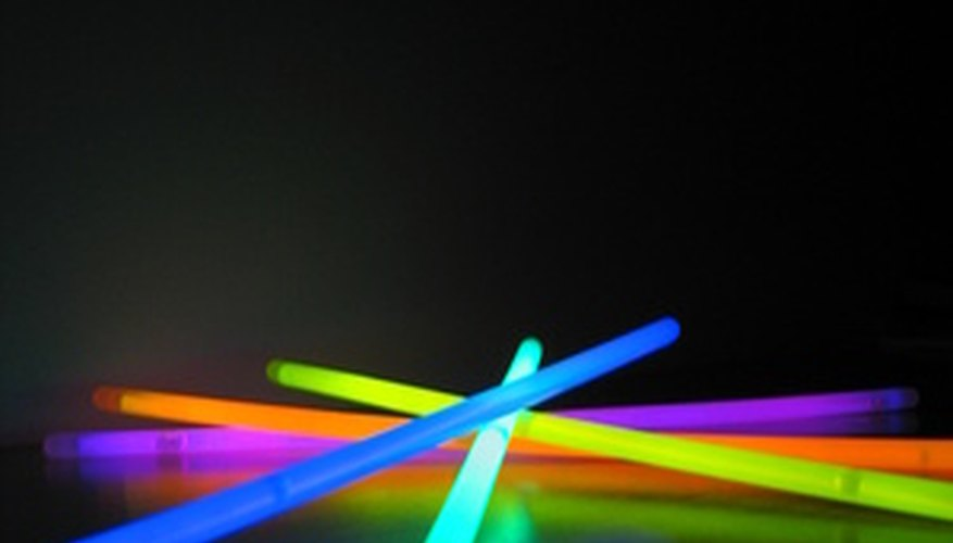 Glow sticks produce light without creating heat.