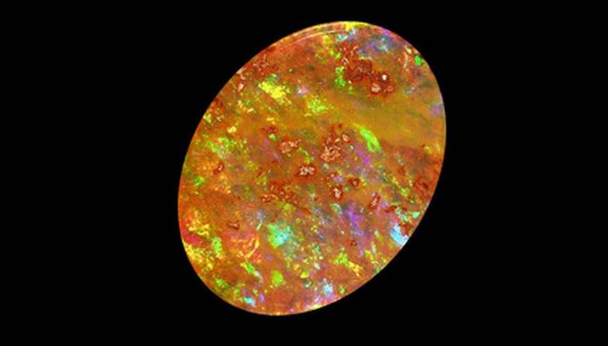 Drusy gemstones' natural colors can be enhanced by human technology.