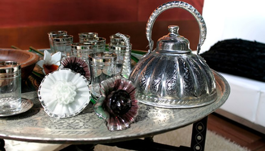 Silver and silverplate items may look identical at first glance.