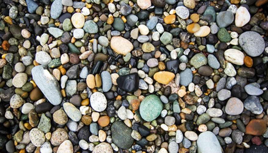 Look out for rocks that wash up on shore. Some could be gorgeous stones in hiding.