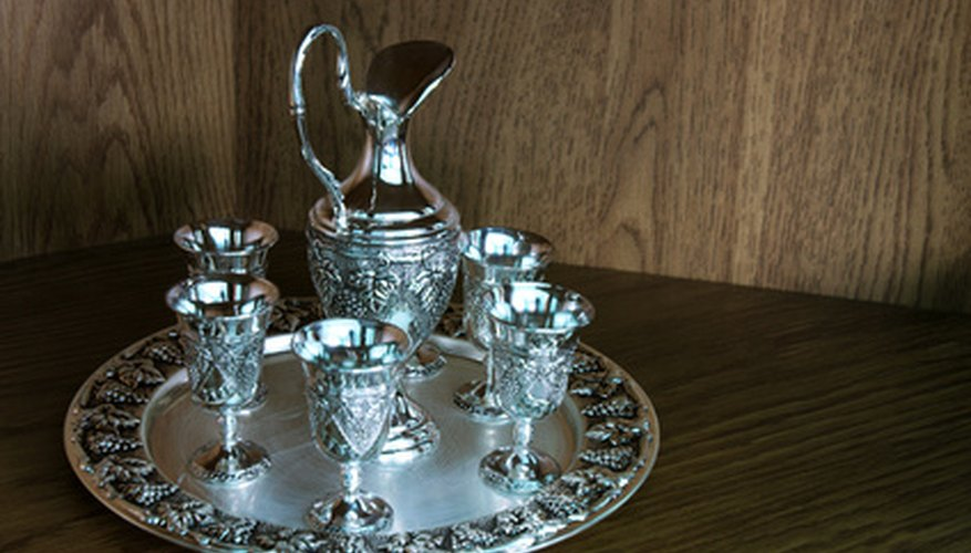 Silver plate is used in a variety of items.