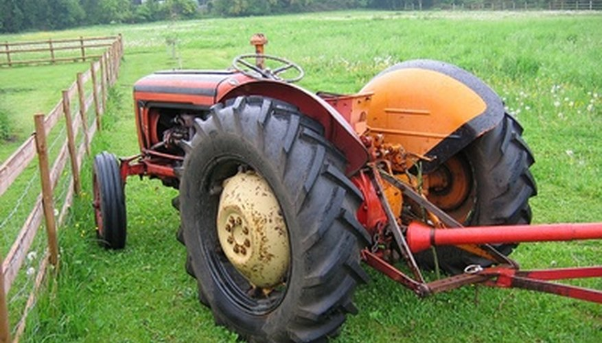 Tractors can serve many functions on farms small and large.