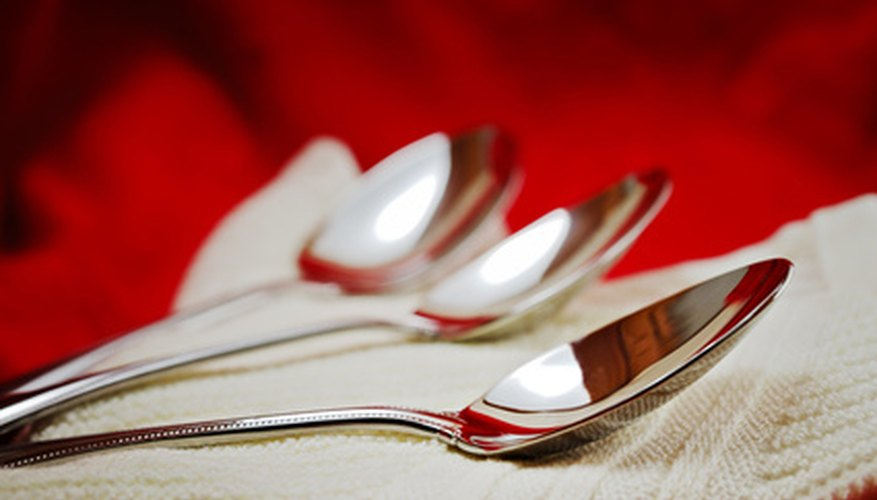 Identify silver flatware by manufacturer for replacements or collecting.