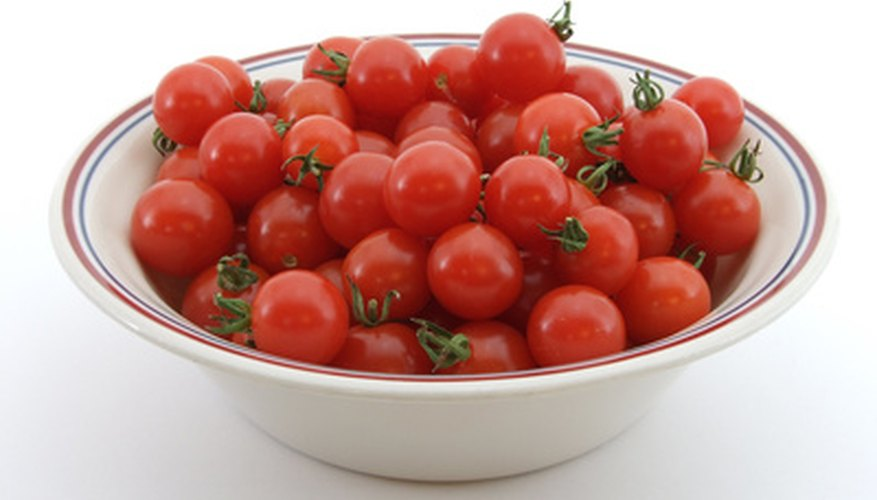 Pruning cherry tomatoes will increase production.