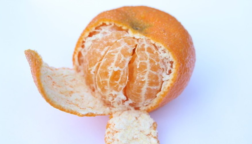 Satsumas are related to the Mandarin orange and the tangerine.