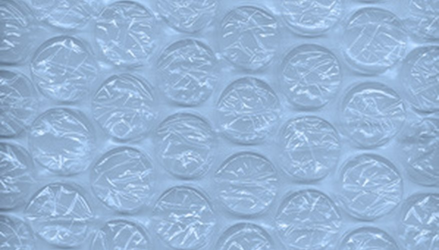 Bubble wrap can be used as an additional layer of movable greenhouse insulation.