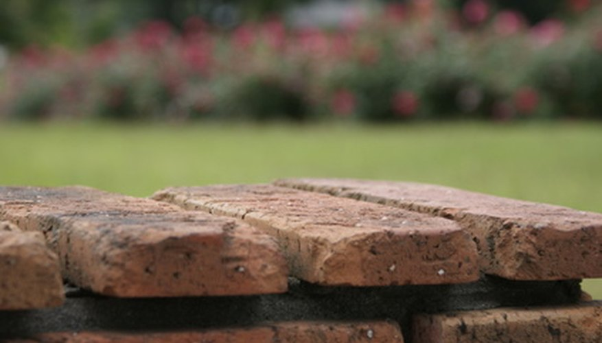 Use edging pavers to give your garden a finished look.