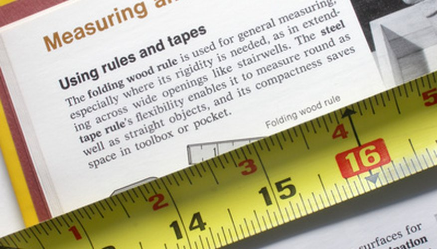 Break out the measuring tape to convert square feet to cubic feet.