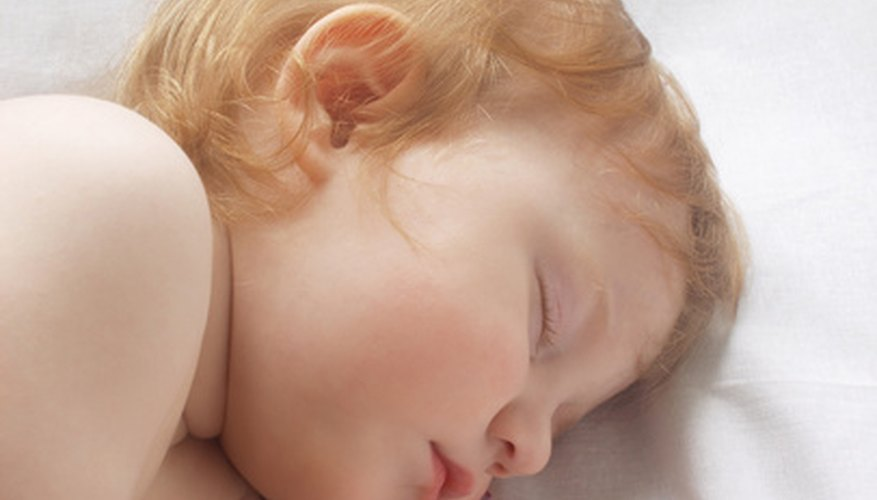 One-year-olds are not always great sleepers.