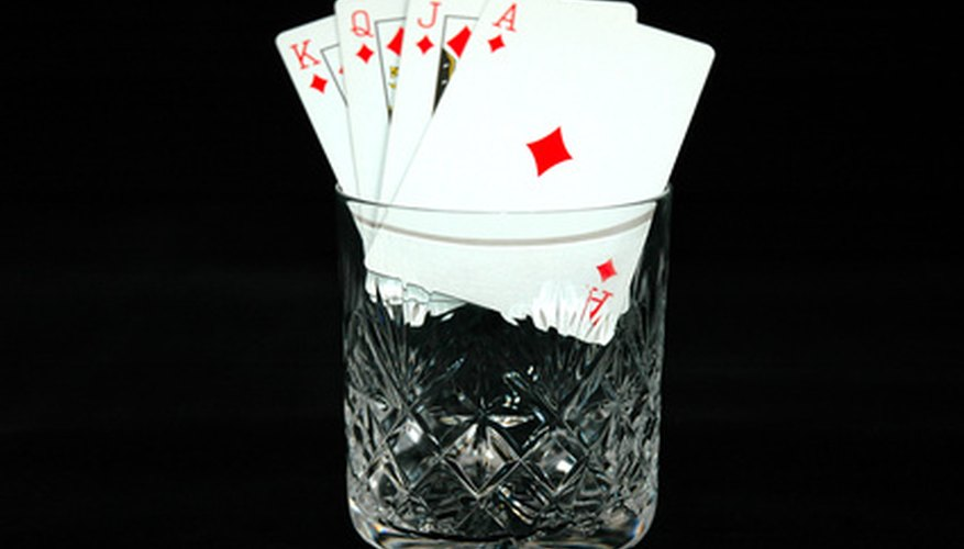 A sequence of cards of the same suit in consecutive order is termed a