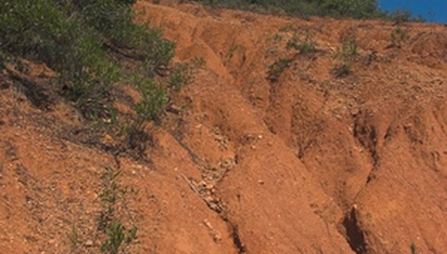 Erosion is becoming an important environmental issue