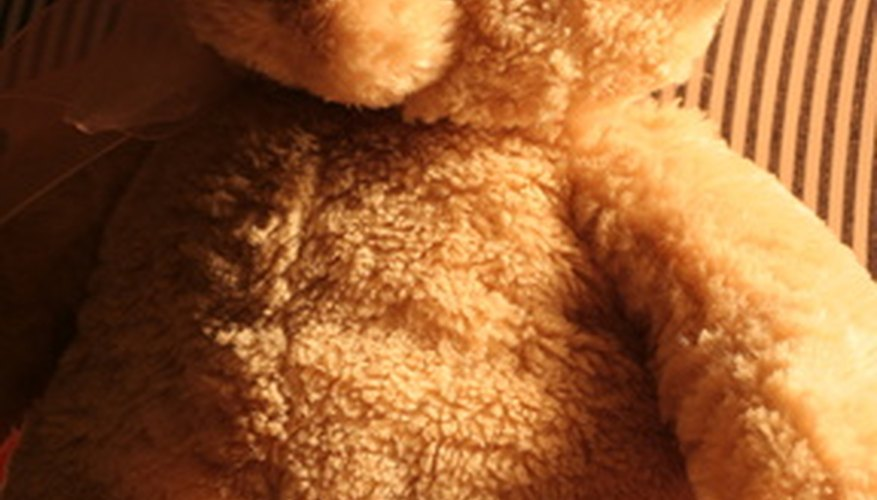 Remove a musty odour from stuffed animals with items in your home.