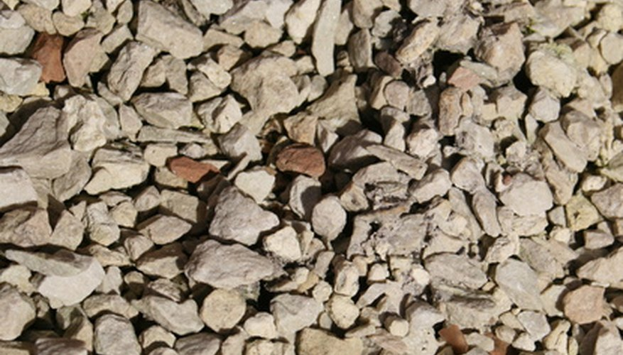 Crushed stone has many uses in landscaping.