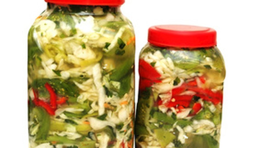 Canning is one option for freezing garden vegetables.