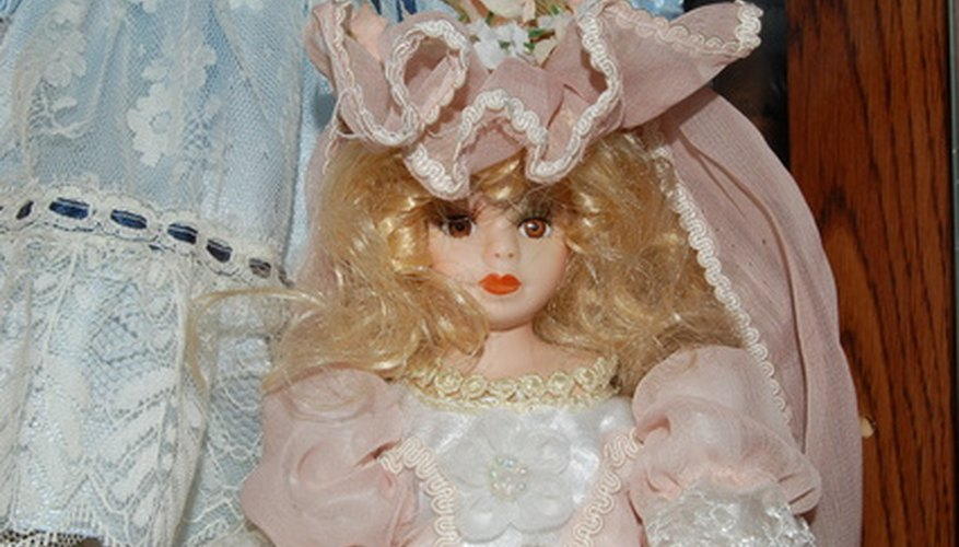 Porcelain dolls have been valued since the 1800s.