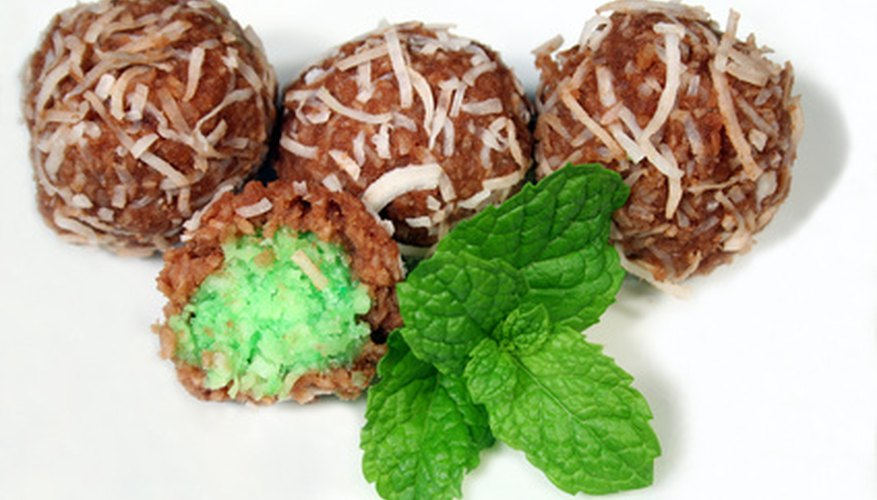 Chocolate and mint pair in many desserts.