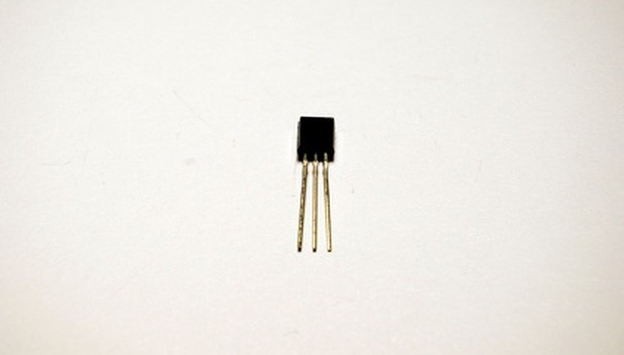 Each transistor amplifies half of the electrical signal.