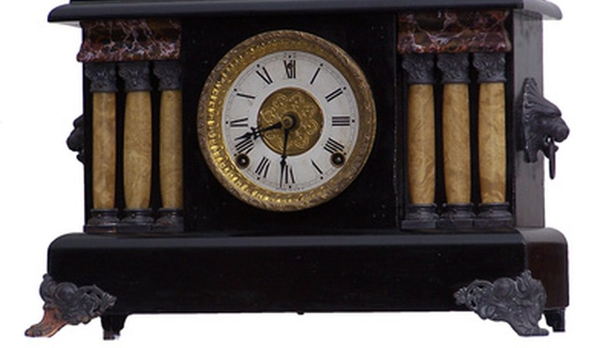 Wind-up clock movements can be replaced with battery-operated quartz movements.