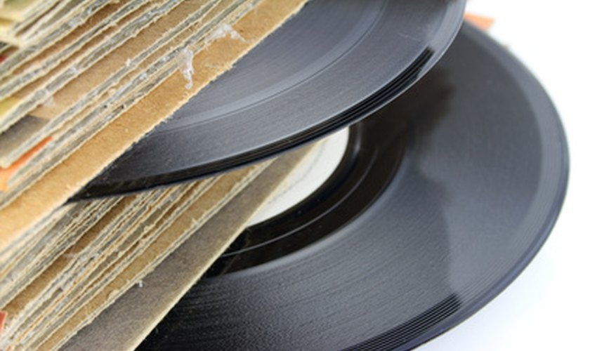 Clean your vinyl records for optimal sound.