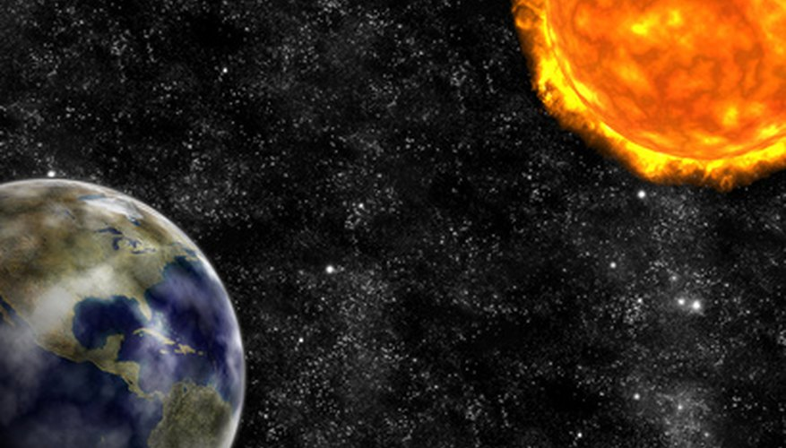 Heliocentric Model of the Solar System Facts | Sciencing
