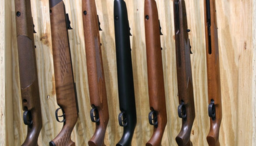 Use dehumidifiers or dessicants to keep your firearms moisture free.