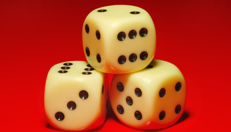 Using manipulatives, such as dice, will make learning math fun for the students.