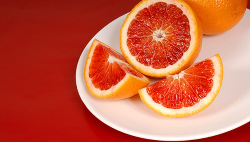 Blood oranges thrive in the Bay Area.