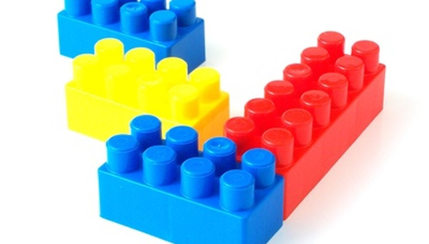 Your child can use Mega Bloks to create almost anything.