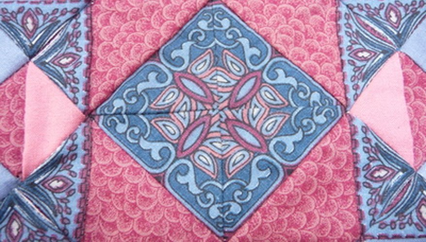 Handmade quilts are the result of fun and fruitful sewing projects.