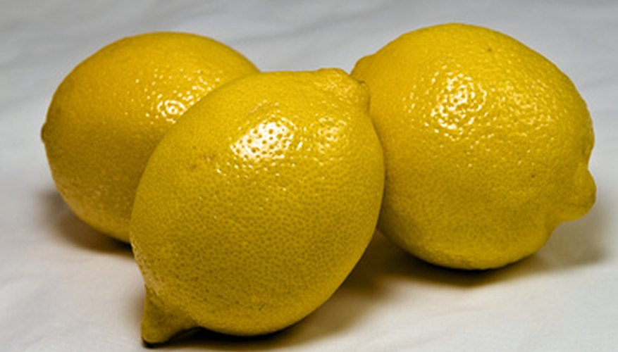 Lemons are subject to several fungal diseases.