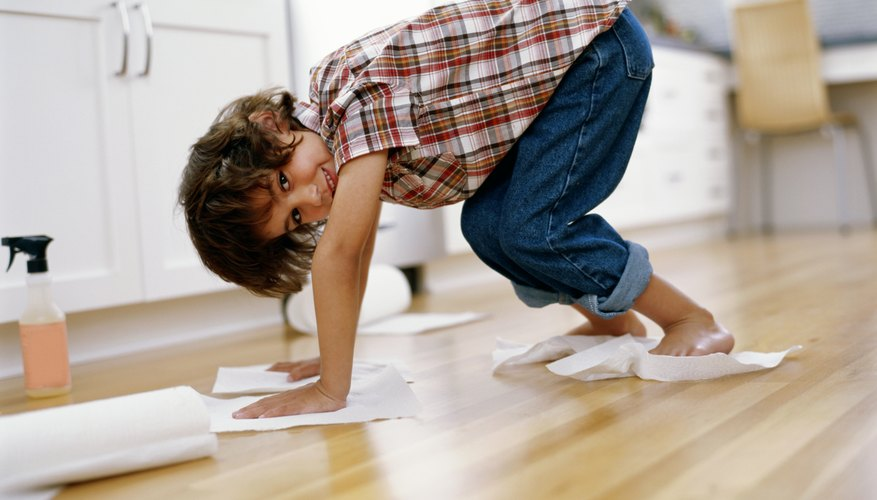 Reward your child for positive behaviors like cleaning.