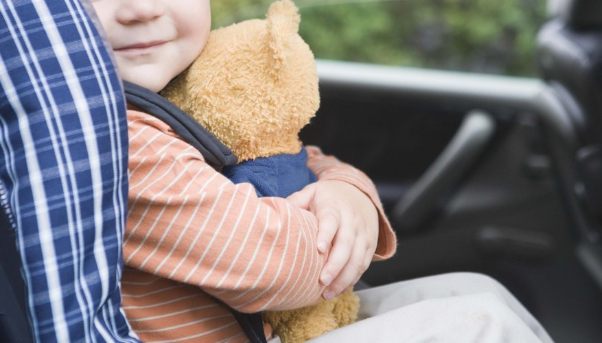 Riding in the back seat is the safest option for your child.