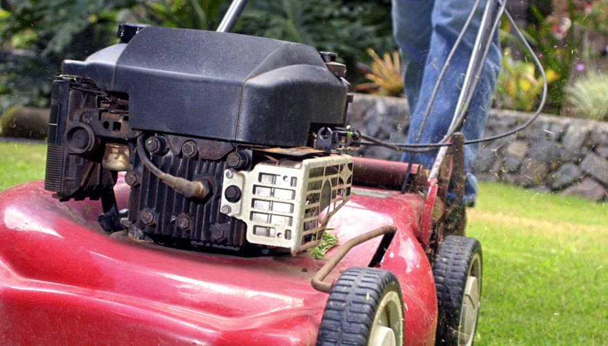 Read all manufacturer's directions before operating either lawn mower.