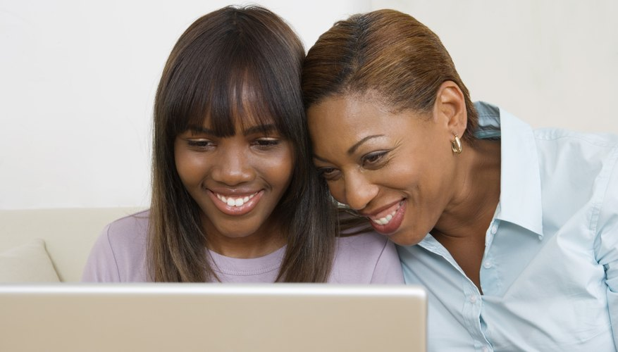 Being a part of your teen's online life is a practical way to monitor it.