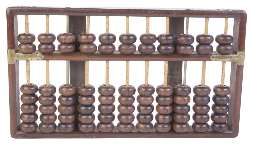 You can perform various mathematical calculations with the help of an abacus.