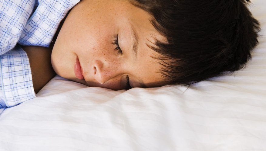 A routine bedtime is essential in doing well in school.