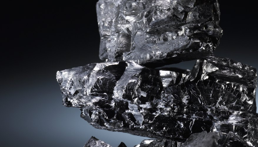 Coal is a black, rock-like substance comprised mostly of carbon and hydrogen.