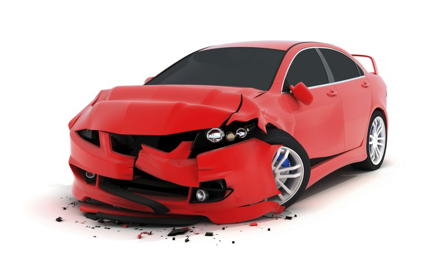 Cars with larger crumple zones experience less force during a crash.