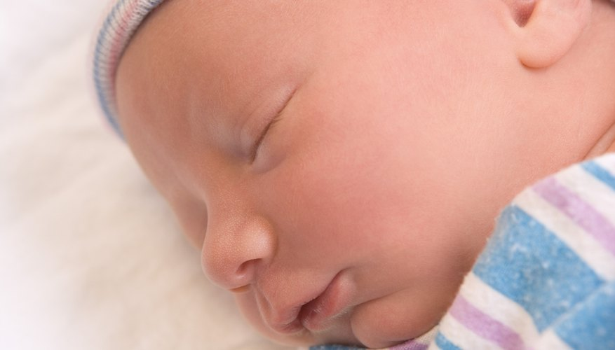 The sneezes of a newborn often cause concern for new moms.