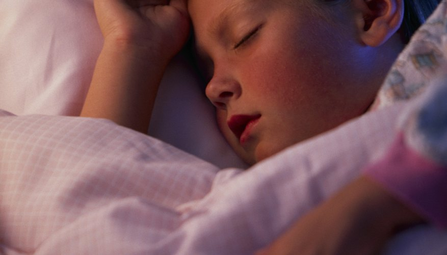 Children who don't take naps may go to bed earlier.
