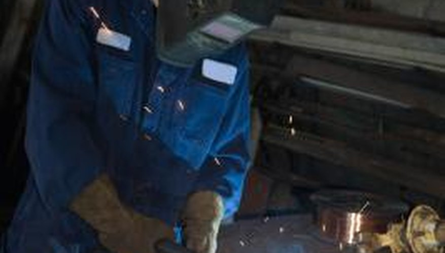 MIG welding can be used to join steel, aluminum or titanium.