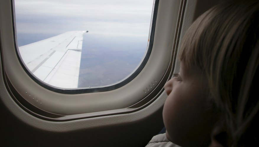 A flight with a toddler can be a pleasant experience.