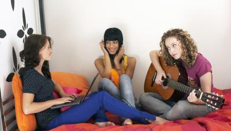 Music can help teenagers learn and form communities.